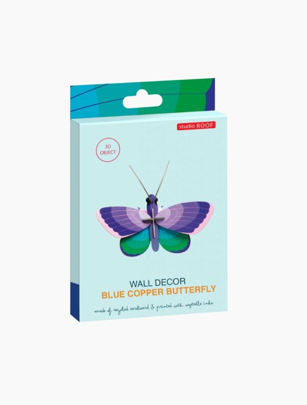 blue copper butterfly studio roof