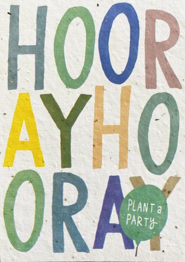 send&grow hooray plant a party