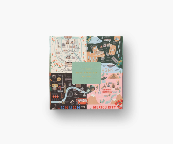 Maps Jigsaw Puzzle Rifle Paper Co