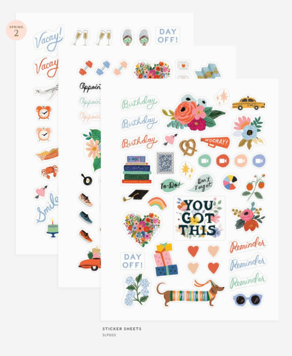 planner stickers rifle paper co