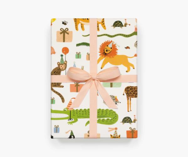 Geschenkpapier party animal