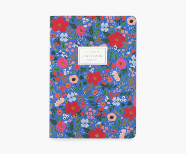 notebookset wild rose rifle paper co
