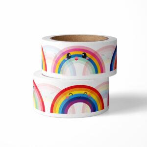 washi tape studio inktvis regenboog