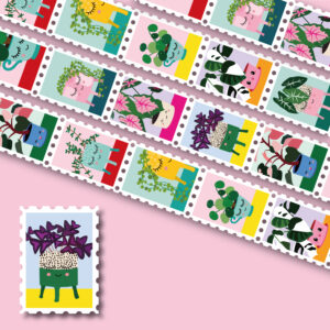 stamp-tape-WASHI-plants
