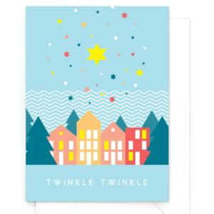 yellow-sky-grappige-kerstkaart-twinkle-twinkle-warm-wishes